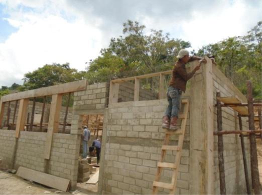Construcción de Módulo de Asistencia Educativa, Caserío El Pinalito, Aldea Tierra Blanca, Región VIII El Abundante, Jocotán, Chiquimula, Guatemala